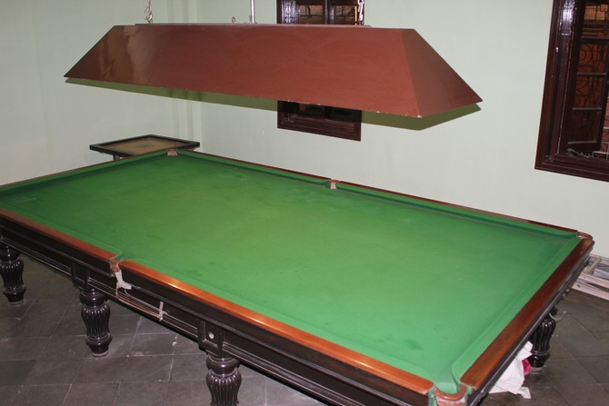 Snooker and billiards table : Photography By Venkatesh A.G.