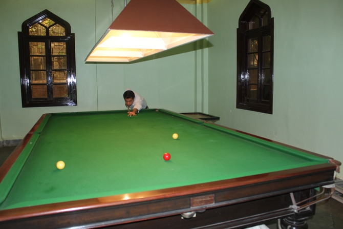 Snooker Table : Photography By Venkatesh A.G.