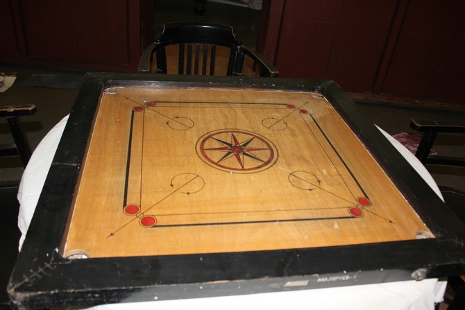 Carrom Board : Photography By Venkatesh A.G.