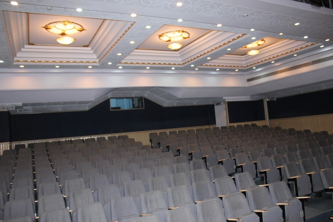 Air Conditioned Auditorium : Photography By Venkatesh A.G.